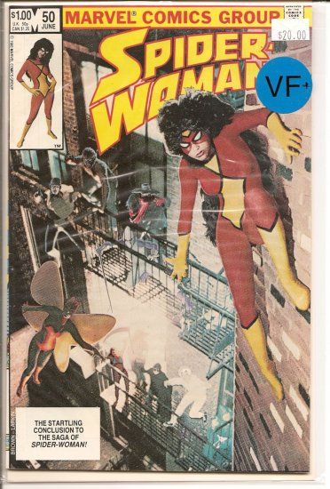 Spider-Woman # 50, 8.5 VF +