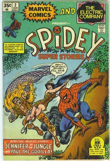 Spidey Super Stories # 2, 4.0 VG