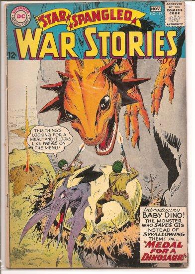 Star Spangled War Stories # 117, 2.5 GD +