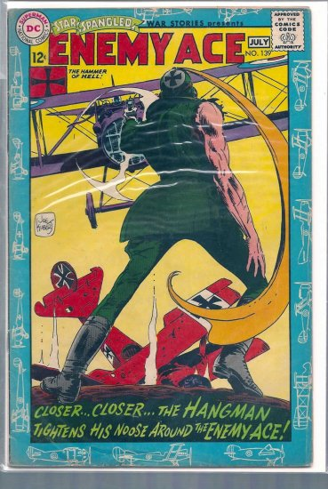 Star Spangled War Stories # 139, 3.5 VG -