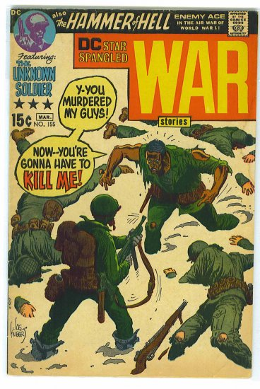 Star Spangled War Stories # 155, 4.0 VG