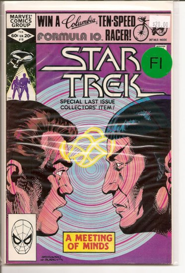 Star Trek # 18, 6.0 FN