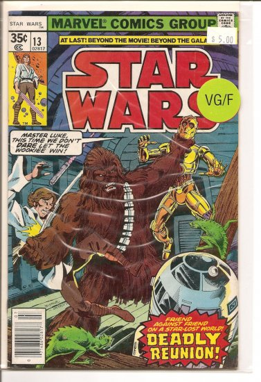 Star Wars # 13, 5.0 VG/FN