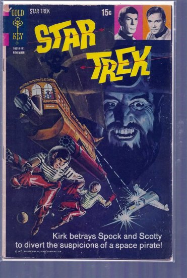 STAR-TREK # 12, 2.5 GD +