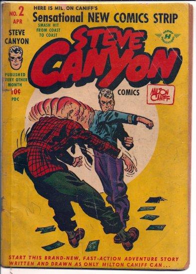 STEVE CANYON COMICS # 2, 0.5 PR