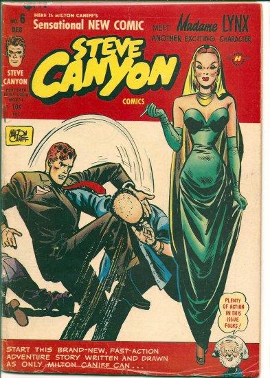 STEVE CANYON COMICS # 6, 4.0 VG