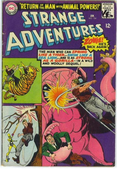 Strange Adventures # 184, 3.5 VG -