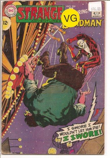Strange Adventures # 209, 4.0 VG