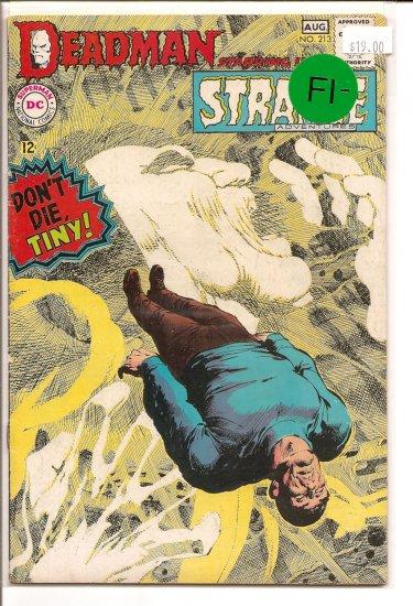 Strange Adventures # 213, 5.5 FN -