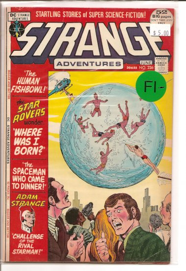 Strange Adventures # 236, 5.5 FN -