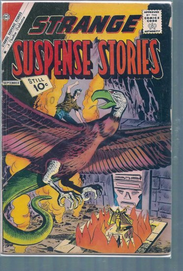 STRANGE SUSPENSE STORIES # 55, 2.5 GD +