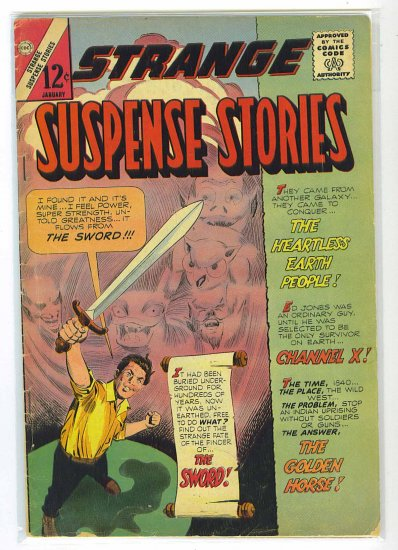 Strange Suspense Stories # 73, 3.5 VG -