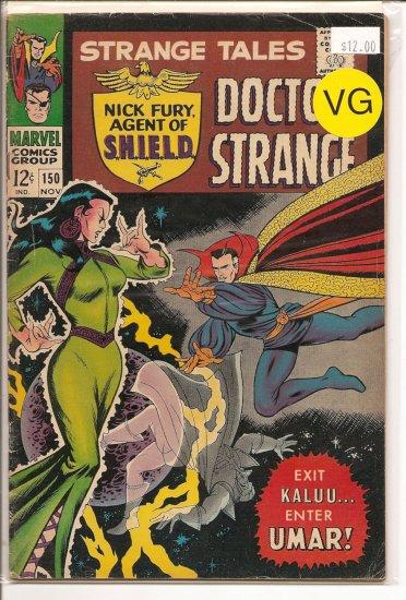 Strange Tales # 150, 4.0 VG