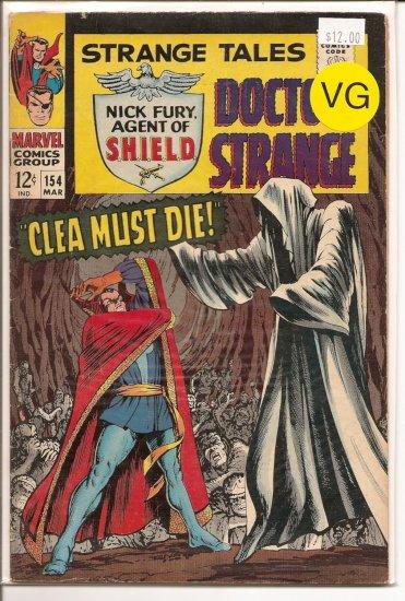 Strange Tales # 154, 4.0 VG