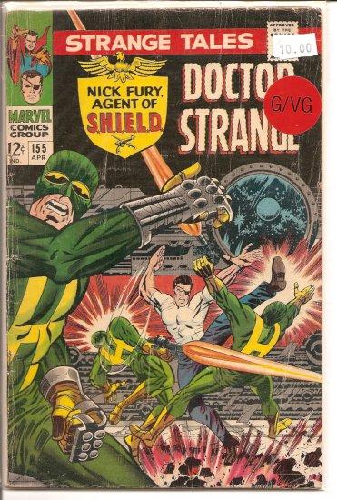 Strange Tales # 155, 3.0 GD/VG