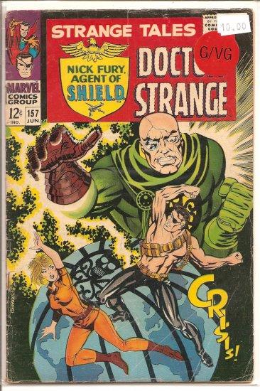 Strange Tales # 157, 3.0 GD/VG