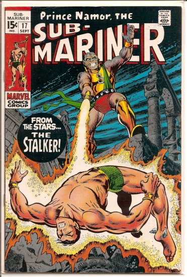 Sub-Mariner # 17, 4.5 VG +