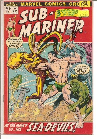 Sub-Mariner # 54, 6.0 FN