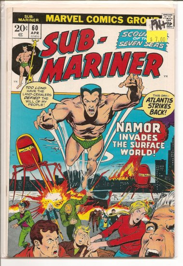 Sub-Mariner # 60, 6.5 FN +