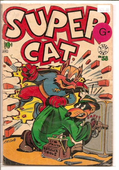 Super Cat # 58, 2.5 GD +