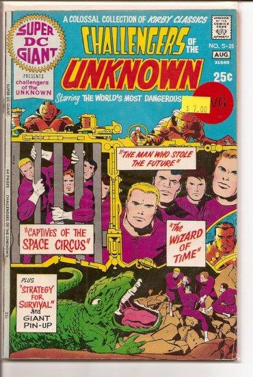 Super DC Giant # 25, 4.0 VG
