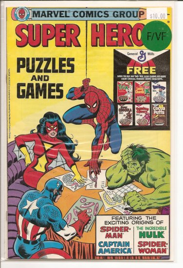 Super Hero Puzzles and Games # 1, 7.0 FN/VF