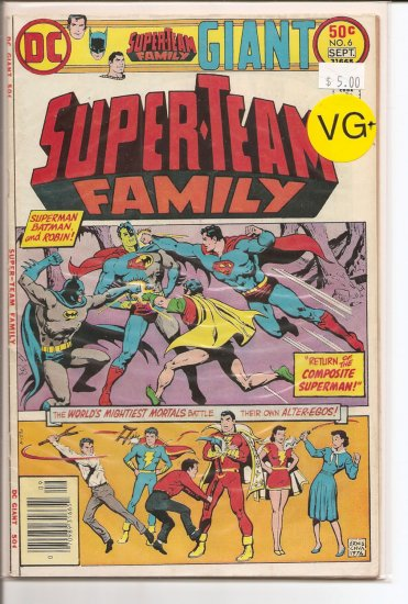 Super-Team Family # 6, 4.5 VG +