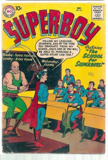 SUPERBOY # 61, 3.0 GD/VG