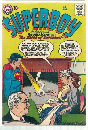 SUPERBOY # 62, 4.5 VG +