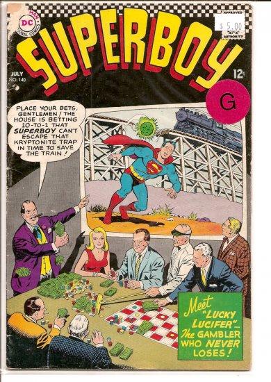 Superboy # 140, 2.0 GD