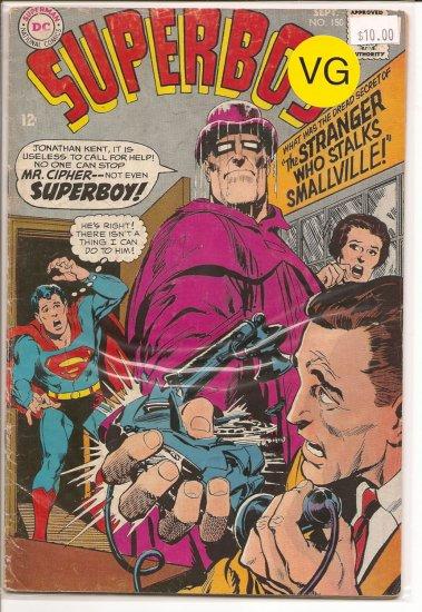 Superboy # 150, 4.0 VG