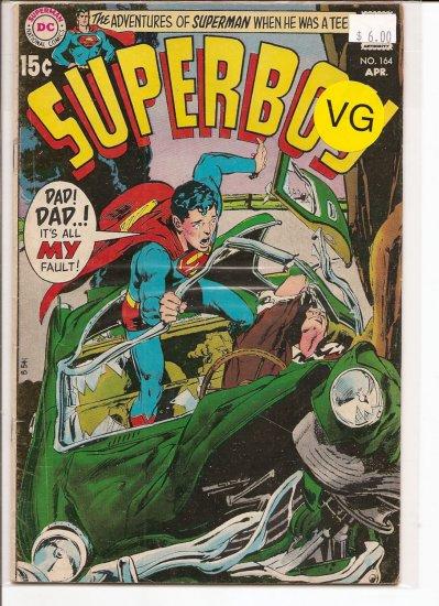 Superboy # 164, 4.0 VG