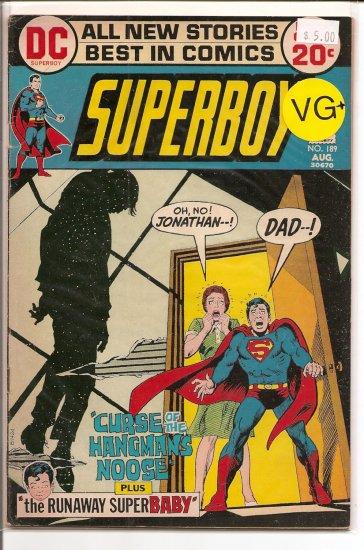 Superboy # 189, 4.5 VG +