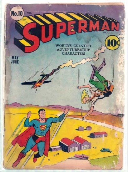 SUPERMAN # 10, 1.0 FR