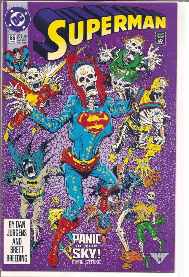 SUPERMAN # 66, 5.0 VG/FN