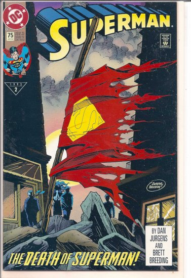SUPERMAN # 75, 9.2 NM -