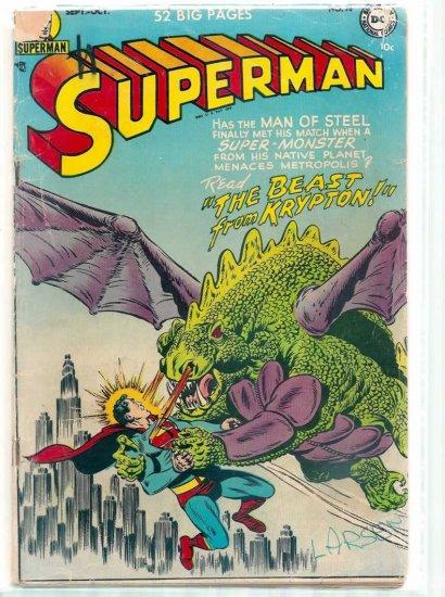 SUPERMAN # 78, 3.0 GD/VG