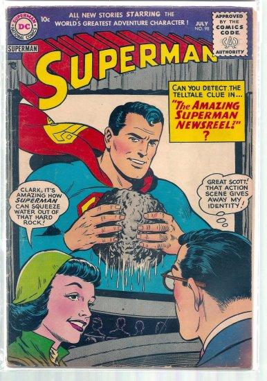 SUPERMAN # 98, 4.5 VG +