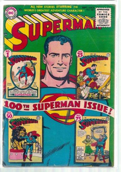 SUPERMAN # 100, 4.0 VG