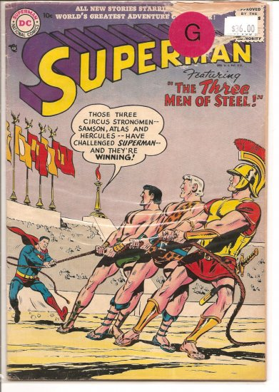 Superman # 112, 2.0 GD