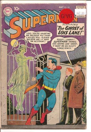 Superman # 129, 3.0 GD/VG