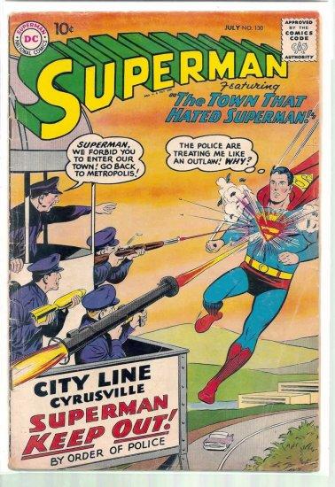 SUPERMAN # 130, 3.5 VG -