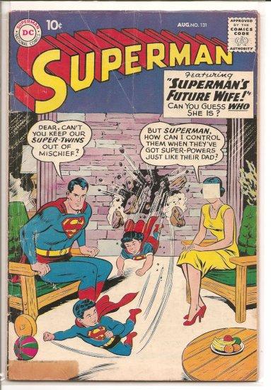 Superman # 131, 3.0 GD/VG