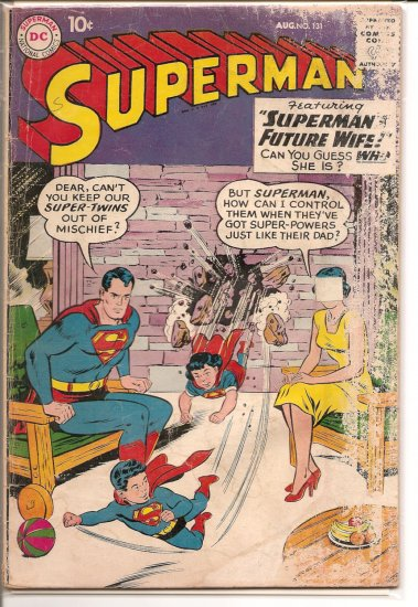 Superman # 131, 2.0 GD