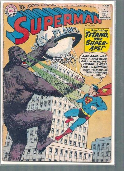 SUPERMAN # 138, 1.5 FR/GD