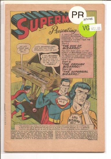 Superman # 140, 0.5 PR