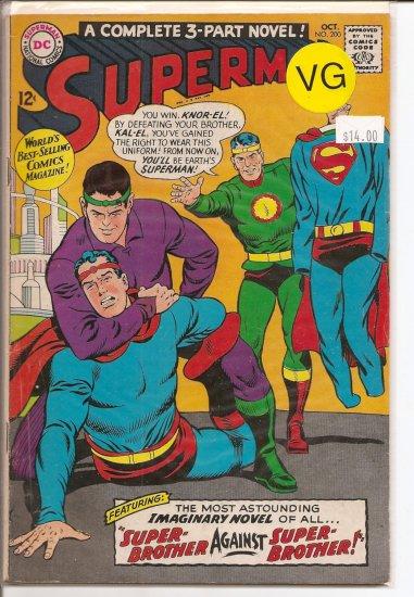 Superman # 200, 4.0 VG