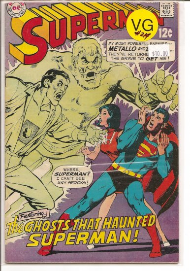 Superman # 214, 4.0 VG
