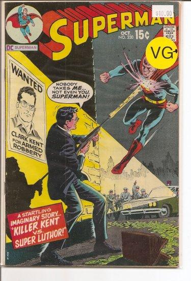 Superman # 230, 4.5 VG +