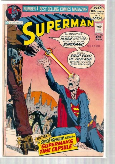 SUPERMAN # 250, 3.5 VG -
